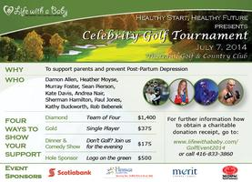 Healthy Start Celebrity Charity Fundraiser
