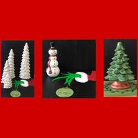 Adult Open Ceramics Assorted Christmas Trees Mats Etc Tickets