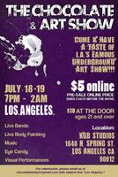 CHOCOLATE & ART SHOW - LOS ANGELES - JULY 18th - 19th