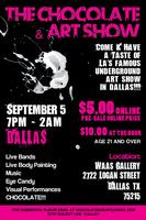 CHOCOLATE & ART SHOW - DALLAS - SEPTEMBER 5th