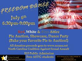 July 6th Freedom Dance - Fundraiser for NCCASA...