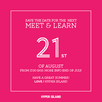 Hyper Island - Meet & Learn, Stockholm