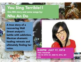 You Sing Terrible! Solo Show by Nhu An Do