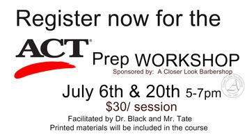 ACT Prep Course July 20th