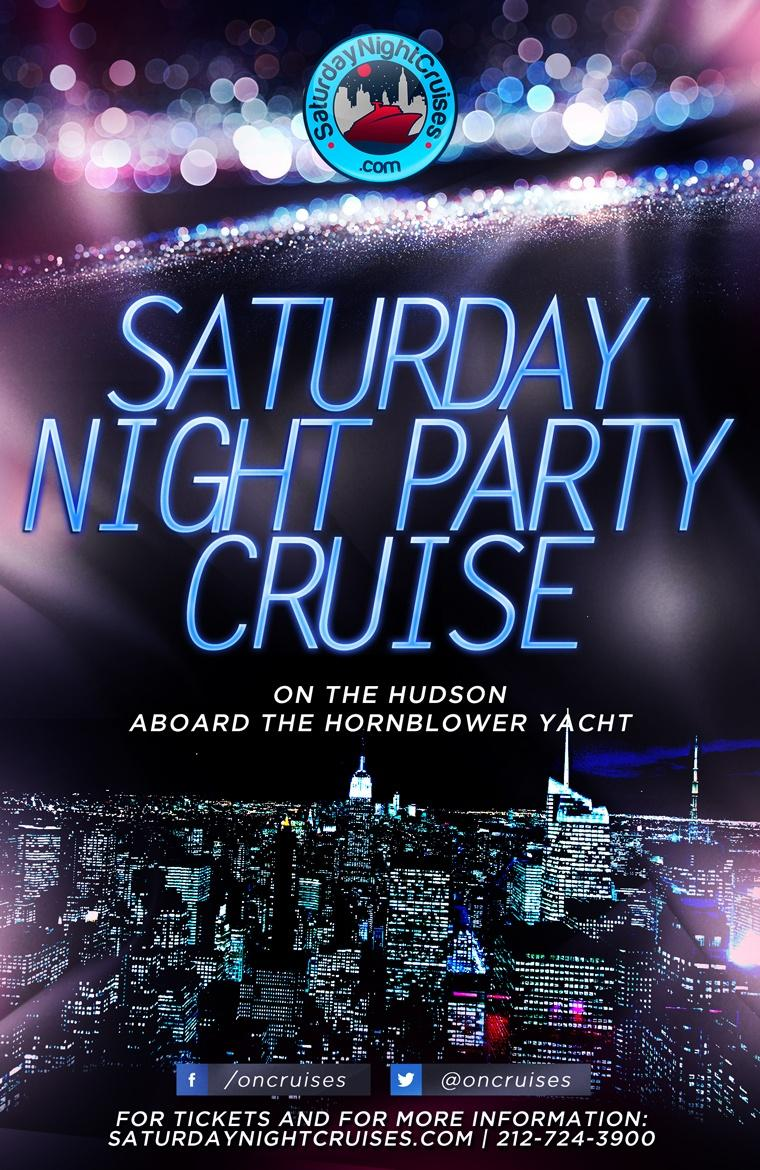 Saturday Night Party Cruise on the Hudson (Aug.- Nov. 2019)