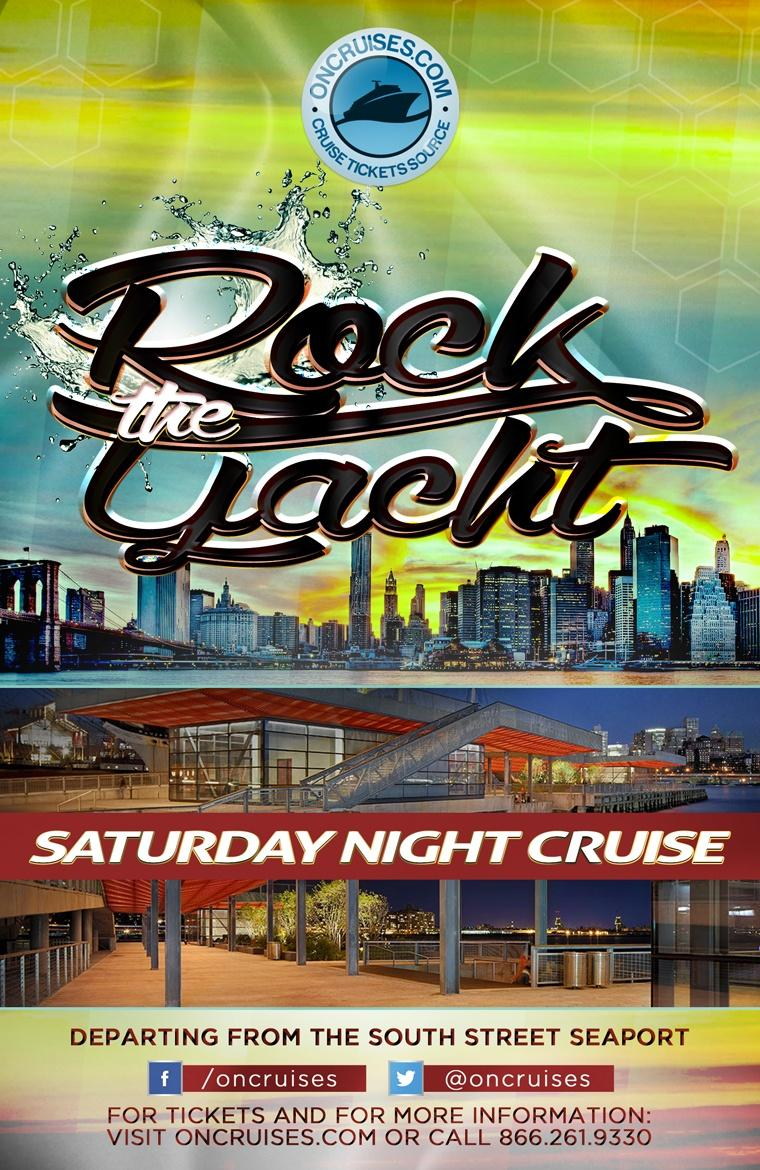 Rock the Yacht: Saturday Night Party Cruise (Aug.-Dec. 2019)