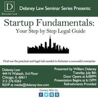 Startup Fundamentals: Your Step by Step Legal Guide