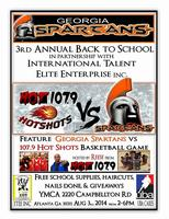 Georgiaspartans 3rd Annual Back to School Event