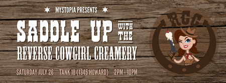 Mystopia Presents: Saddle Up with the Reverse Cowgirl...
