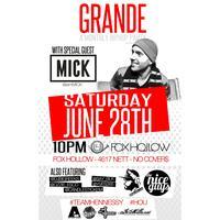 GRANDE with MICK - A HipHop Celebration