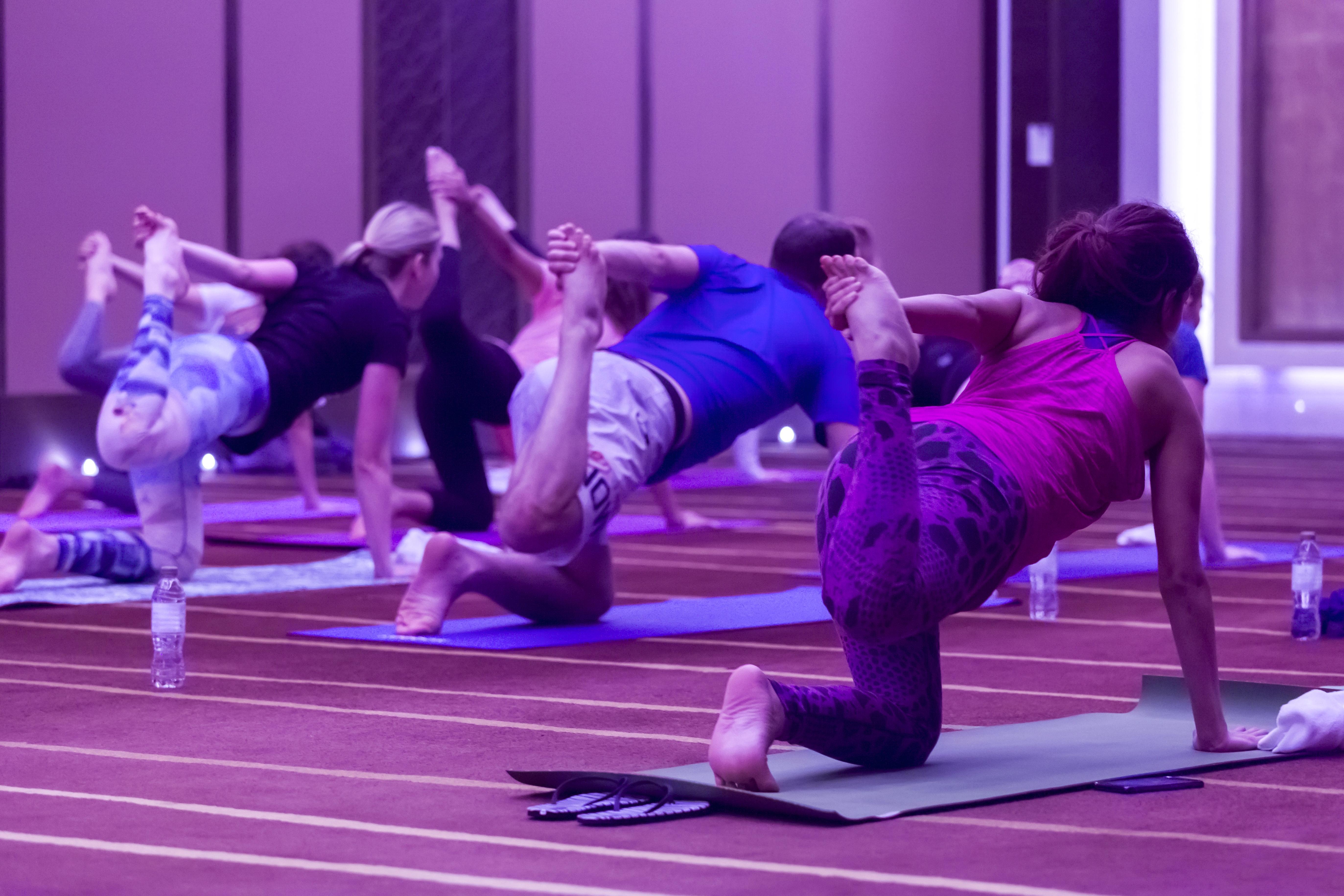 80's Yoga Flow