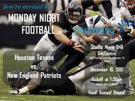 Improving's Monday Night Football