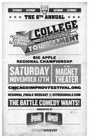 College Improv Tournament Big Apple Regional