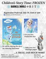 Children's Story Time: Frozen (SOLD OUT)
