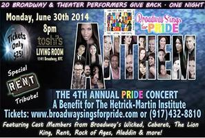 ANTHEM: Broadway Sings for Pride's 4th Annual Gay...
