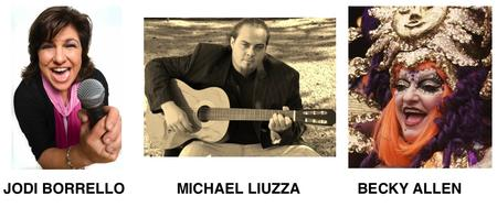 COMEDY & MUSIC! July 11 Jodi Borrello/Becky...