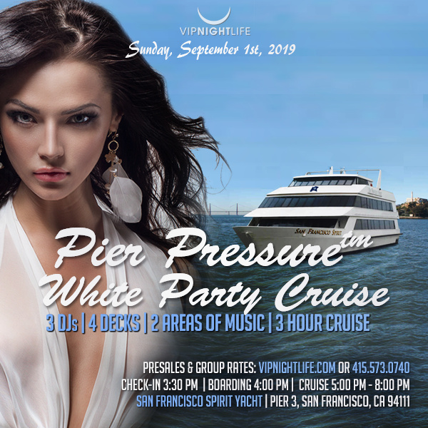SF Labor Day Weekend - Pier Pressure Yacht Party