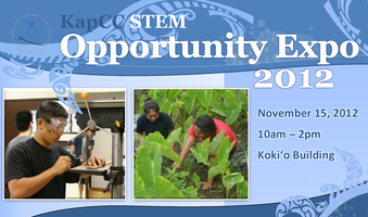 Kapi`olani Community College STEM Opportunity Expo
