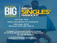 ABUJA SINGLES HANG OUT Tickets, Sat, Sep 14, 2019 at 12:00