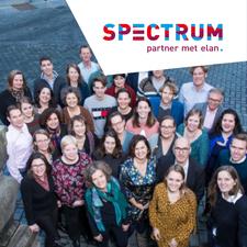 Spectrum partner met elan logo