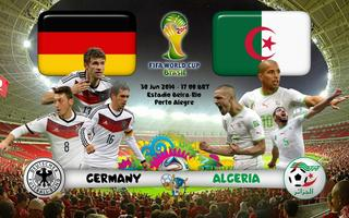 GERMANY vs. ALGERIA 2014 World Cup Round of 16