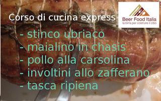 Corso di cucina express - Carne al forno, stinco...