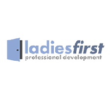 Ladies First Professional Development logo