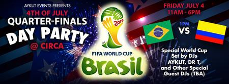 World Cup Games Viewing & Day Party @ Circa by Aykut...