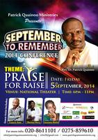 SEPTEMBER TO REMEMBER 2014 CONFERENCE