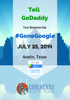 Tell GoDaddy Your Business has Gone Google