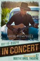 Artie Hemphill CD Release Concert