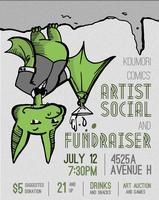 Koumori Comics Artist Social & Fundraiser
