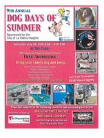 9th Annual Dog Days of Summer Event