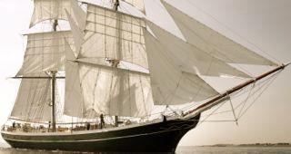 Totally Thames: Family adventure on the Morgenster tall ship across London logo