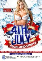 4th of July - Free All Night with RSVP