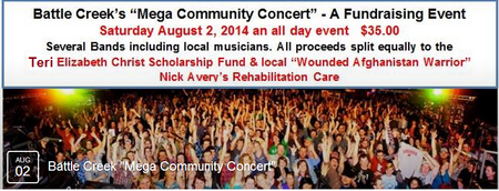 Mega Community Benefit Concert