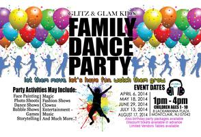 Last event of the Summer- Glitz and Glam Kids- Family...