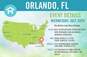 Healthy Home Tour: Orlando, FL