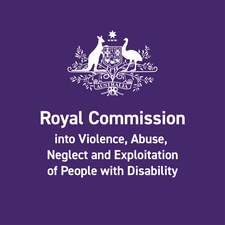 Royal Commission into Violence, Abuse, Neglect and Exploitation of People with Disability logo