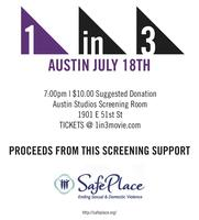 1 in 3 Screening Benefiting Austin's SafePlace