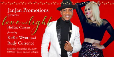 A LOVE AND LIGHT HOLIDAY CONCERT featuring KeKe Wyatt a...