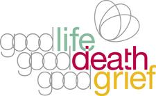 Good Life, Good Death, Good Grief logo
