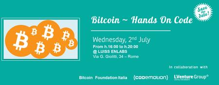 Bitcoin ~ Hands On Code
