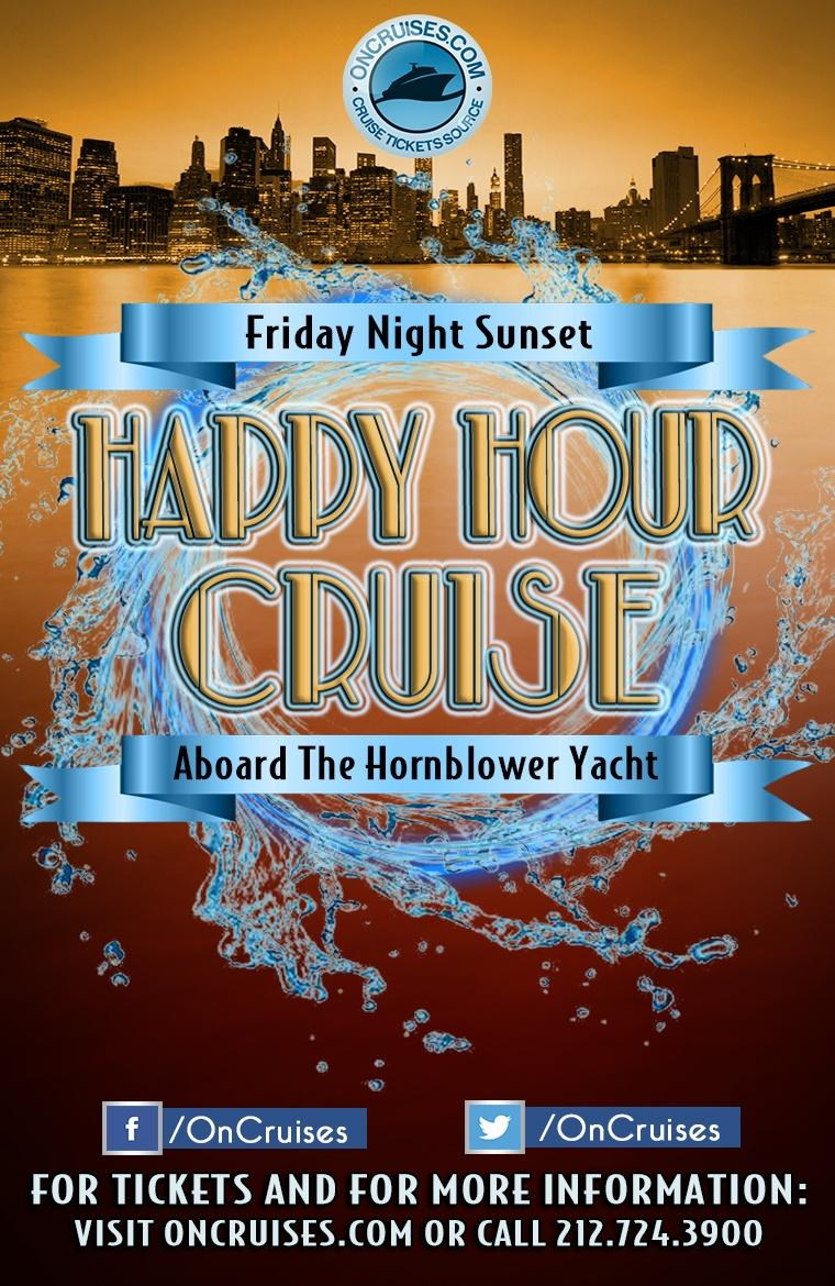 The Friday Night Sunset Happy Hour Cruise