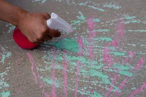 Little Makers: Spray Chalk