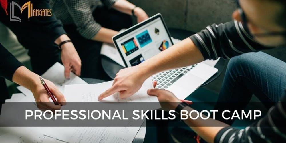 Professional Skills 3 Days Bootcamp in San Francisco, CA