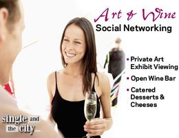 Wine and Art Networking Event for singles 25-45 (sold...