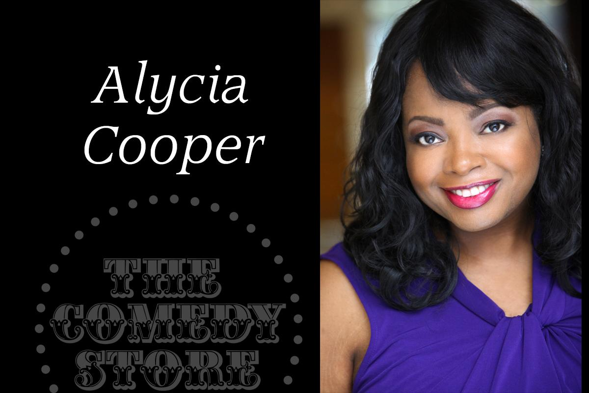 Alycia Cooper - Friday - 7:30pm