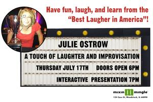 A Touch of Laughter and Improvisation with Julie Ostrow