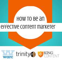 How to be an Effective Content Marketer